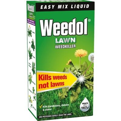 Weedol Lawn Weedkiller Concentrate, 250ml