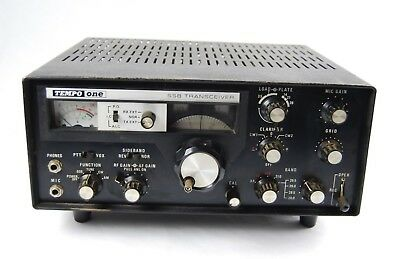 Vintage Tempo One SSB Transceiver Works Fast Delivery