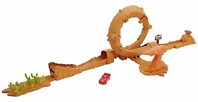 Disney Cars 3 Willy's Butte Transforming Track Set.