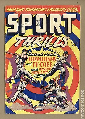 Sport Thrills (Star) #11 1950 GD/VG 3.0