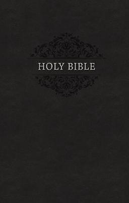 Kjv, Holy Bible, Soft Touch Edition, Leathersoft, Black, Comfort Print: Holy Bib