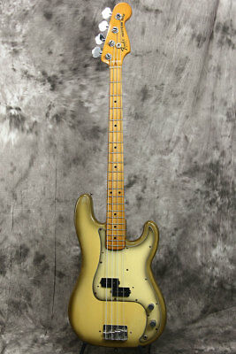 Used Fender 1978 Precision Bass Antigua Electric Bass Guitar From Japan