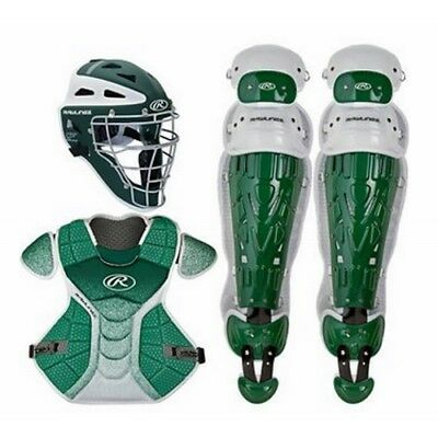 Rawlings Velo Catchers Set Youth VCSY - DG/WH