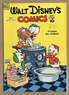 Walt Disney's Comics and Stories (Dell/Gold Key/Gladstone) #116 1950 VG 4.0