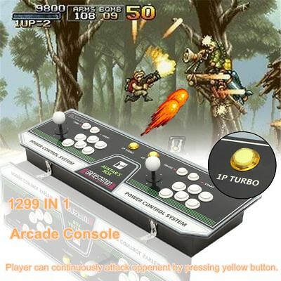 1299 in 1 Video Games LED Arcade Game Console Double Stick Pandora's Box 5S HDMI