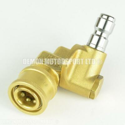 Adjustable Pressure Washer Quick Release Socket (Female to Male) Mini 1/4 Lance