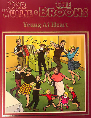 Oor Wullie & The Broons Young at Heart Giftbook Annual 2019 Hardbacked Book