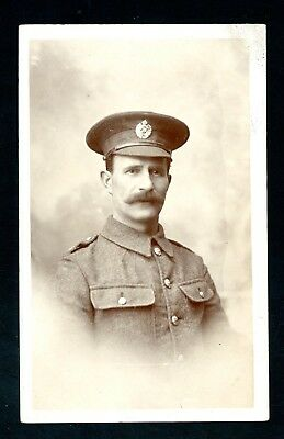 Hartlepool Photographer (Clennett)  Royal Engineers Soldier WWI    (Au1048)