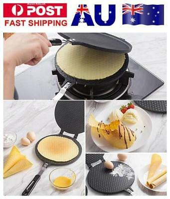 Round 17CM Waffle Crispy Cone Bakeware Maker Ice Cream Egg Roll Maker Mold