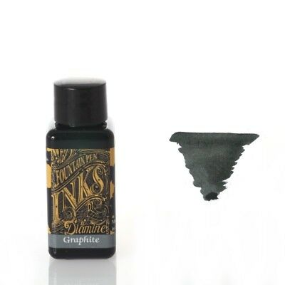 Diamine - Fountain Pen Ink, Graphite 30ml