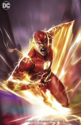 Flash #48 Francesco Mattina Varaint Flash War Part 2 Dc Comics