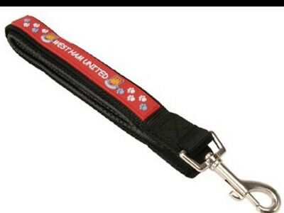 West Ham United Dog Lead. Official Licensed Product.