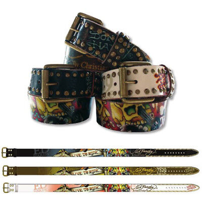 Ed Hardy EH1223 Live-To-Ride Kids-Boys Leather Belt