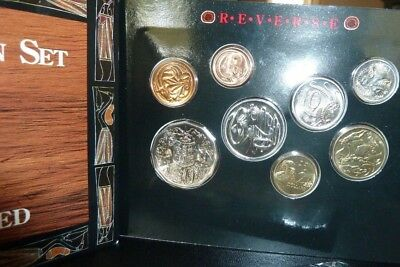 The Royal Australian Mint 1990 Coin Set Proof uncirculated