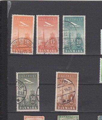 A Good Cat Value Denmark 1934 group of Air Issues