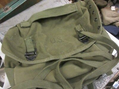 Us M-1961 Buttpack Field Pack Canvas Excellent Condition Canvas M61