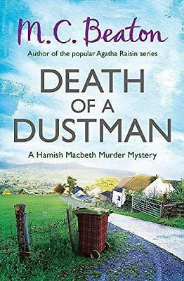 Death of a Dustman (Hamish Macbeth), Beaton, M.C., Good Condition Book, ISBN 978