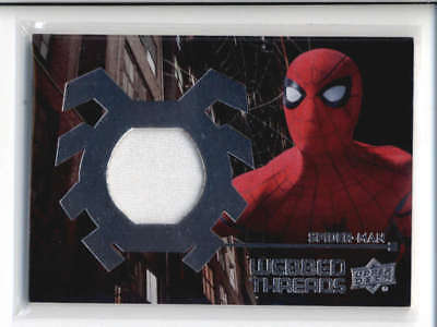 2017 Ud Marvel Spider-Man Home Coming Webbed Threads Relic Card #wts7 Fd3863