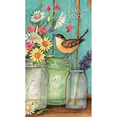 Flower Jars Pocket Address Book, Journals and Housewares by Lang Companies