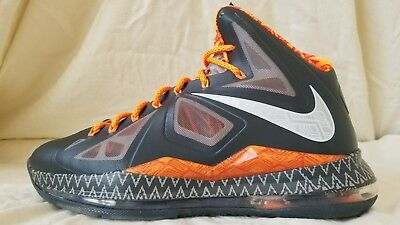 best sneakers 873ab 48d90 Nike Lebron X BHM Black History Month 583109-001   Mens Size 10.5