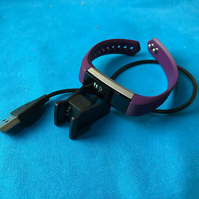 Fitbit Alta Activity Tracker w/ Small Silicone Band -Plum ✔Ships Same Day!!