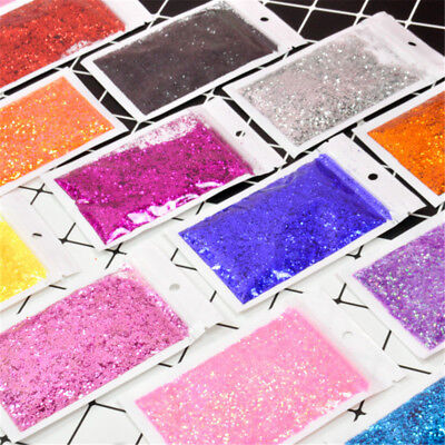 30g Face Body Nail Glitter Xmas Wedding Dance Party Dust Powder DIY Crafts Decor