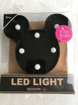 Mickey Micky Mouse Maus LED Lampe inkl. Batterie absolut niedlich Disney Neu