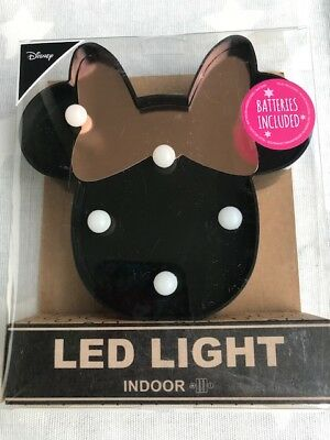 Minnie Mouse Minni Maus LED Lampe inkl. Batterie absolut niedlich Disney Neu