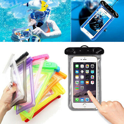 AU Floating Waterproof Phone Case Waterproof Pouch Phone Dry Bag For iPhone X
