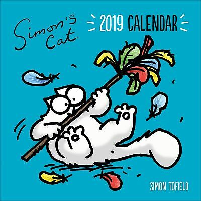 Simon's Cat Official 2019 Wall Calendar New & Sealed Simons Cat