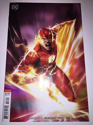 The Flash #48 - Mattina Variant Cover - 1St Print - Dc Comics (2018)