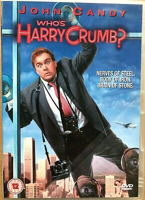 Who's Harry Crumb DVD 1989 Comedy Detective Film Movie Classic with John Candy