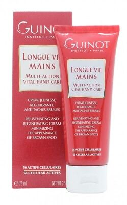 Guinot Longue Vie Mains Multi Action Vital Hand Care - Women's For Her. New