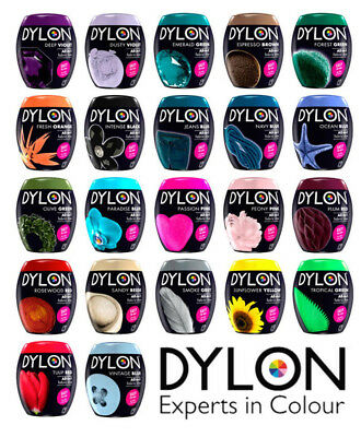 Dylon Fabric Dye All In 1 Available In All 22 Colours 350g Easy To Use