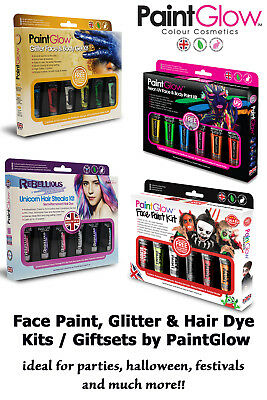 PaintGlow Themed Kits - Ideal for gifts, parties, festivals & Halloween