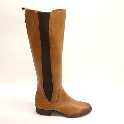 51988d030107 New Sam Edelman Womens Chestnut Brown Leather Paradox Knee High Boots Size  6.5