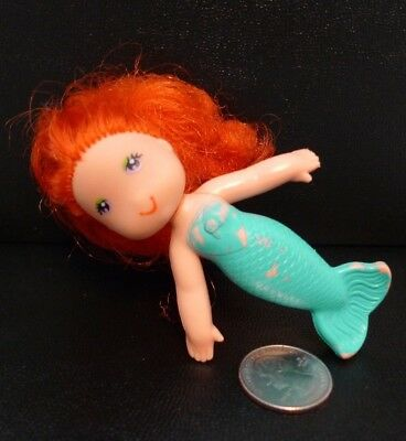 a2371a2f4bac Vintage Kenner Sea Wees Coral Doll Blue tail w  Red Hair Curls 1979 !