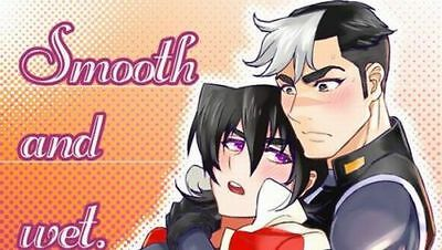 Voltron YAOI Doujinshi ( Shiro x Keith ) Smooth and wet. NEW!! The Rock