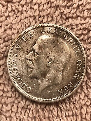 1928 Great Britain Silver One Florin. Collector Coin