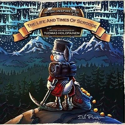 The Life and Times of Scrooge Tuomas Holopainen 2 CD LTD DIGIPAK