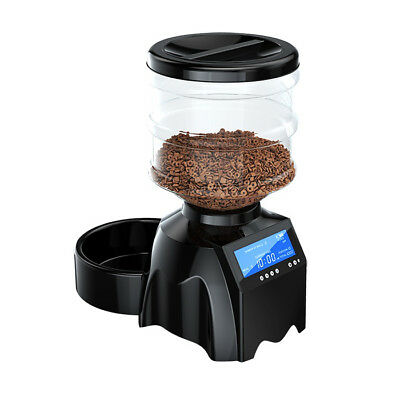 """TAMO Perfect Dinner Automatic Pet Feeder with Built-in Microphone and 4"""" Display"""