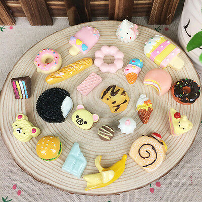 10pcs Random Squishies Kawaii Slow Rising Medium Soft Food Squishy Toy Gift