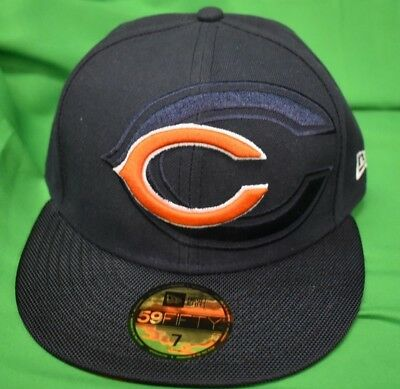 sports shoes 9e184 678e9 New Era 59Fifty NFL Chicago Bears On-Filed Sideline Fitted Hat Cap NWT 7