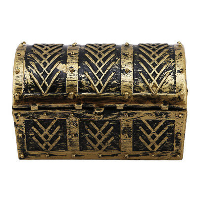 Vintage Pirate Jewelry Storage Box Holder Treasure Chest Gift Box Home Decor LD