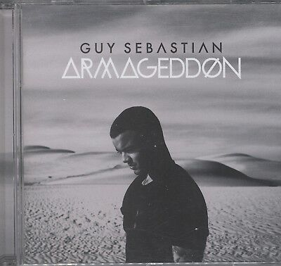 Guy Sebastian - Armageddon cd/ dvd  like new