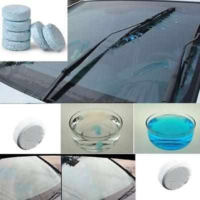 6Pcs/Pack Car Auto Windshield Window Glass Cleaning Compact Solid Wiper Cleaner