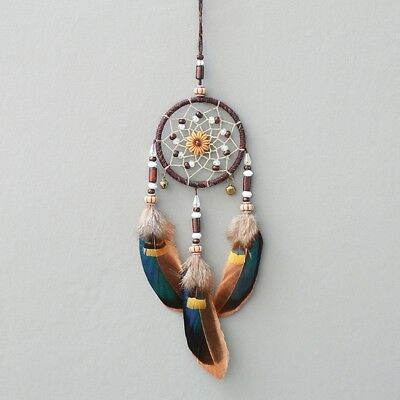 Vintage Dreamcatcher Handmade Dream Catcher Car Home Hanging Decor Bead Ornament
