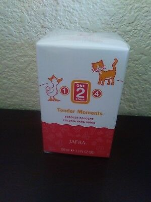 JAFRA TENDER MOMENTS 1- 2- 4 TODDLER BABY COLOGNE 3.3 fl Oz