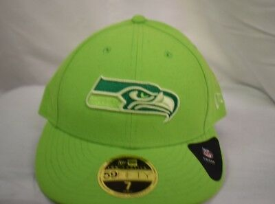 innovative design 1e494 2ba40 New Era 59Fifty NFL Mens Seattle Seahawks Total Team Tonal Fitted Hat Cap  New
