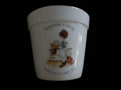 Vintage Holly Hobbie Pland Pot